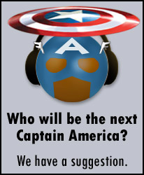 Our Vote for Captain America!