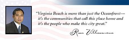 Re-Elect Ron Villanueva to Virginia Beach City Council