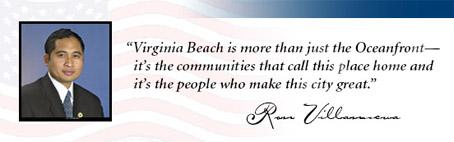 Re-Elect Ron Villanueva to Virginia Beach City Council