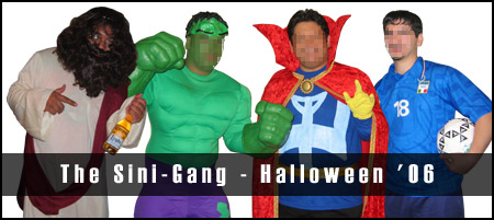 The Sini-Gang - Halloween '06